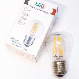 LED lampe E-27 6W