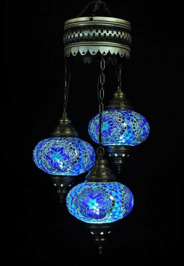orientalische lampe blau einfach und bequem kaufen. Black Bedroom Furniture Sets. Home Design Ideas