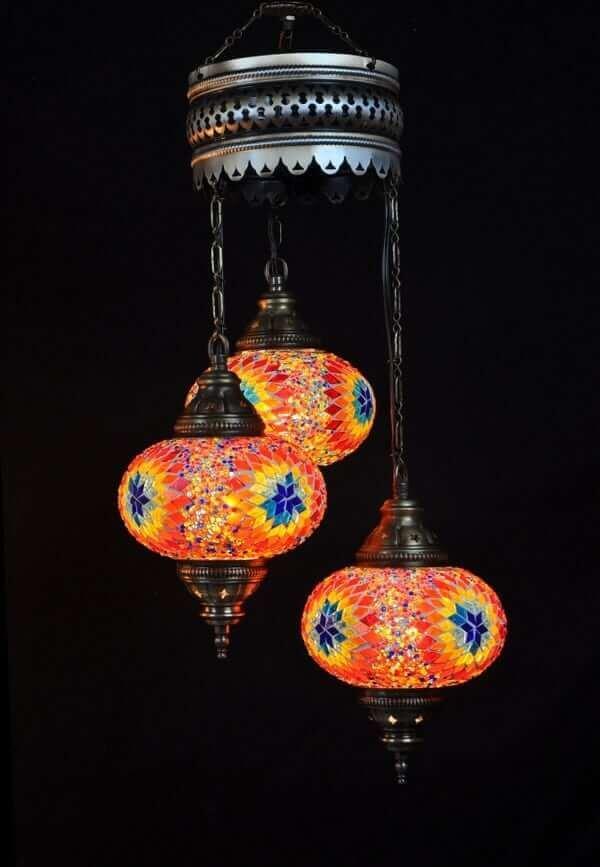Orientalische Lampe Multicolour einfach und bequem kaufen