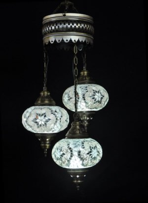 Orientalische Lampe Weiss