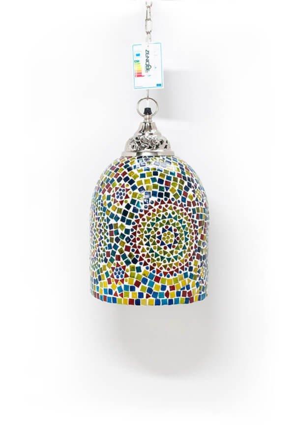 Mosaik Hängelampe Multicolour Jaipur