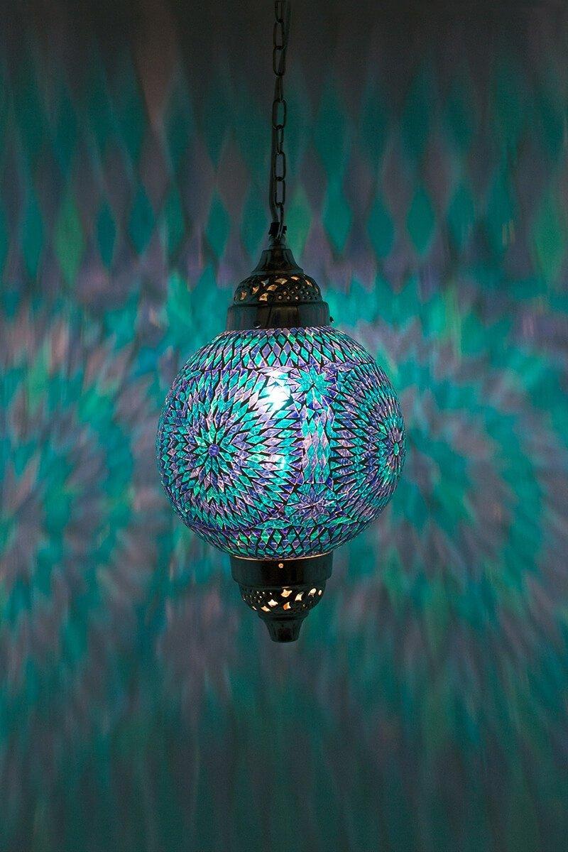 mosaik lampe blau einfach schnell und bequem kaufen. Black Bedroom Furniture Sets. Home Design Ideas