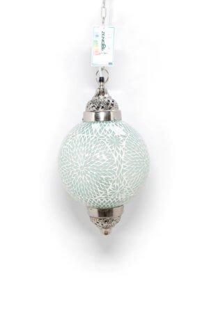 Mosaik Lampe Weiss Mumbai
