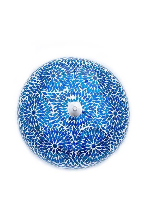 Orientalische Deckenlampe Blau Bohemian