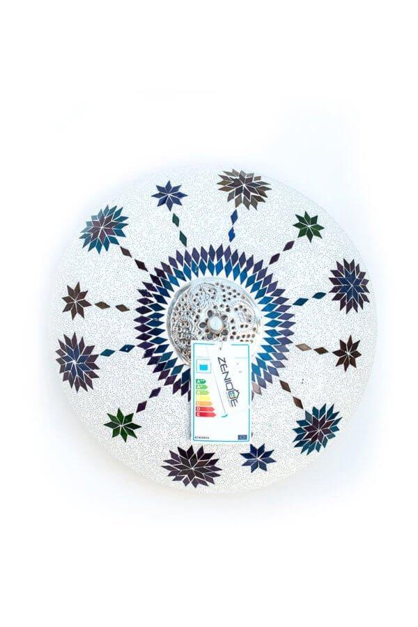 Orientalische Deckenlampe Multicolour Weiss Maroc
