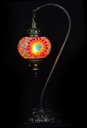 Türkische Tischlampe Bogen Multicolour