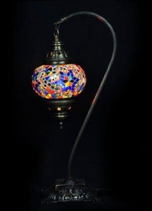 Türkische Tischlampe Bogen Multicolour mix