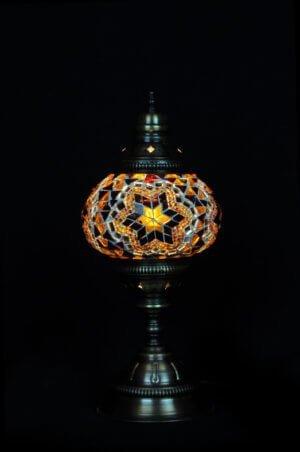 Türkische Tischlampe Braun