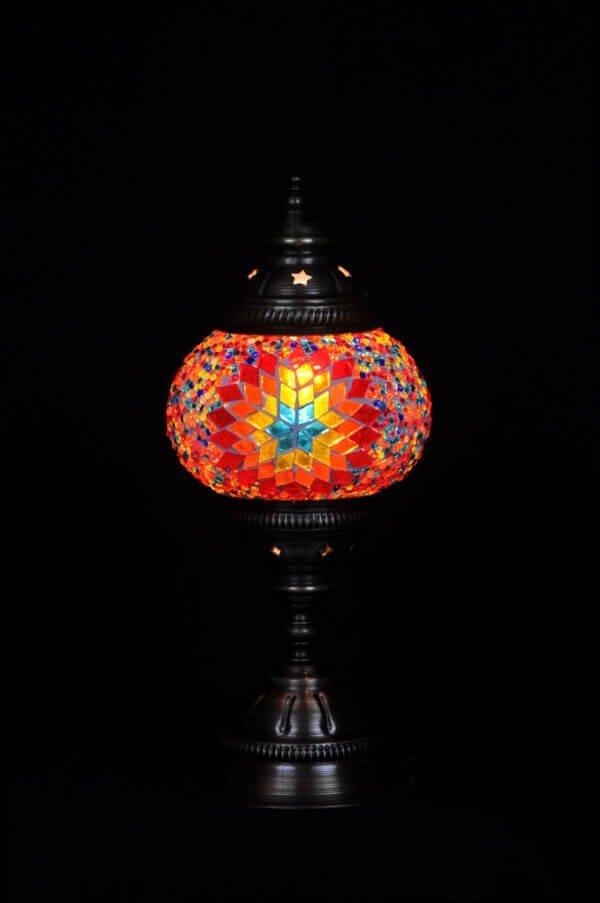 Türkische Tischlampe Multicolour
