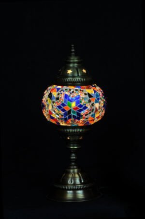 Türkische Tischlampe Multicolour mix