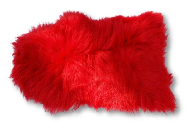 Island Schaffell Rot verbreit zu Hause ein gemütliches Flair.