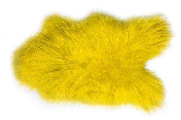 Island Schaffell Gelb verbreit zu Hause ein gemütliches Flair
