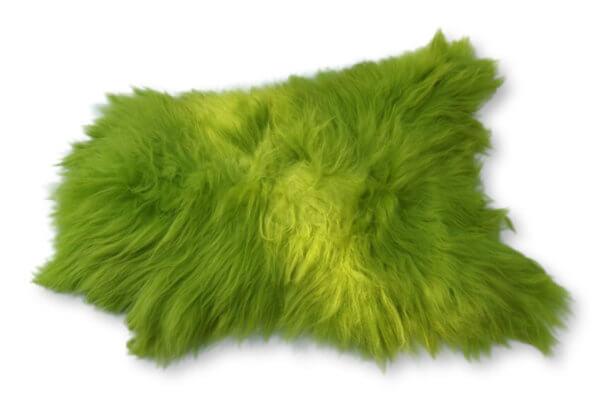 Island Schaffell Lime-Grün verbreit zu Hause ein gemütliches Flair.