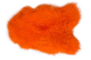 Island Schaffell Orange verbreit zu Hause ein gemütliches Flair