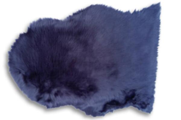 Schaffell Blau verbreit zu Hause ein gemütliches Flair
