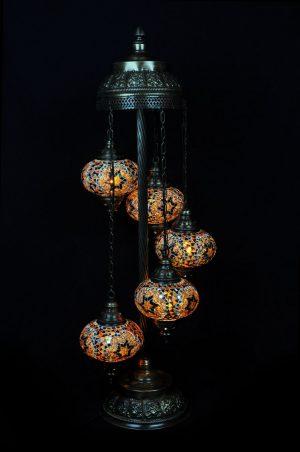 Türkische Stehlampe Braun - orientalplaza.de