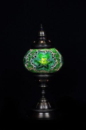 Turkische Tischlampe Grun - Oriental Plaza